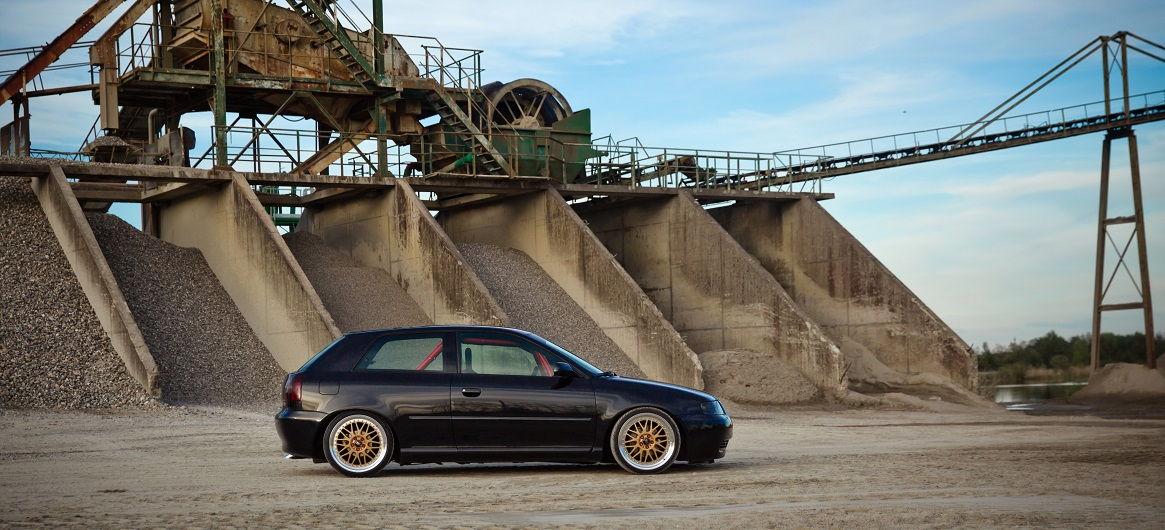 Audi A3 8L schön in Szene gesetzt