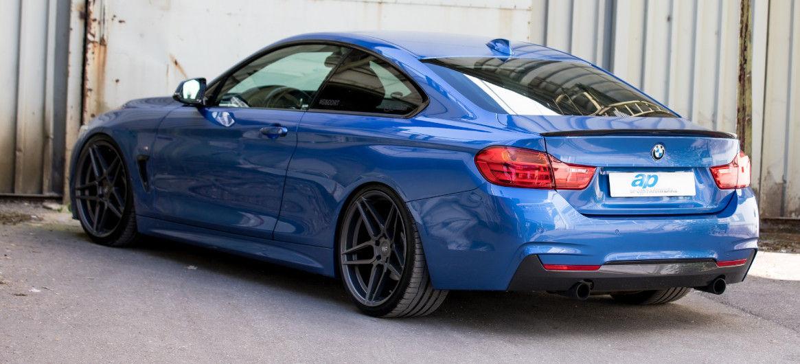 Einfach mehr M - ap Gewindefahrwerk im BMW 4er