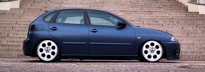 Seat Ibiza 6L mit ap Gewindefahrwerk